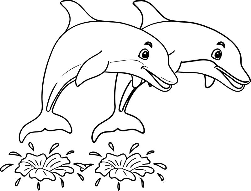 Dolphin Coloring Page 191