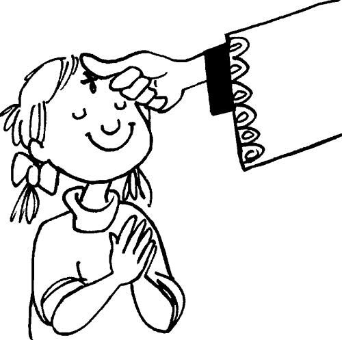 Download Ash Wednesday Coloring Pages Free