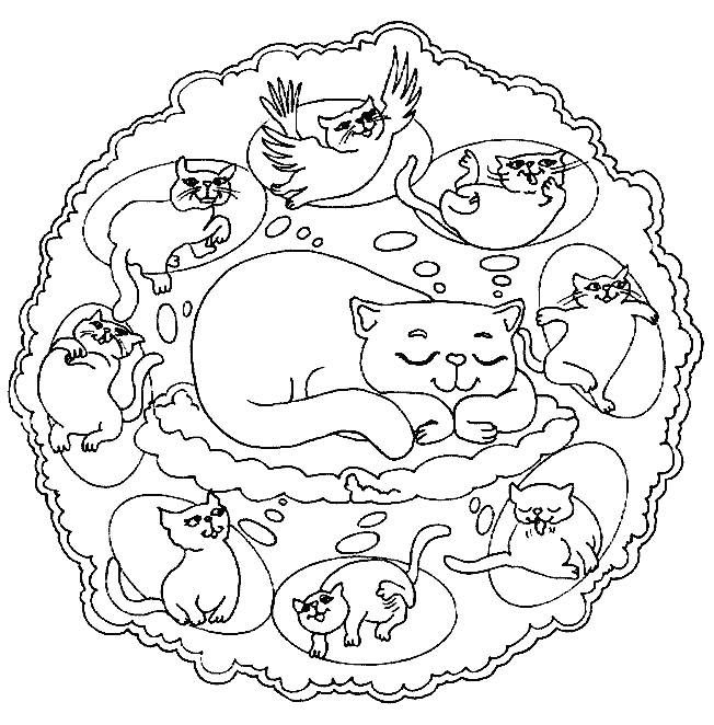 Download Mandala Coloring Pages For Kids