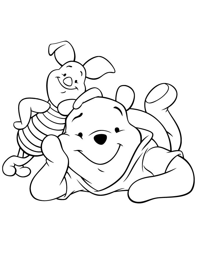 Download Piglet Coloring Pages