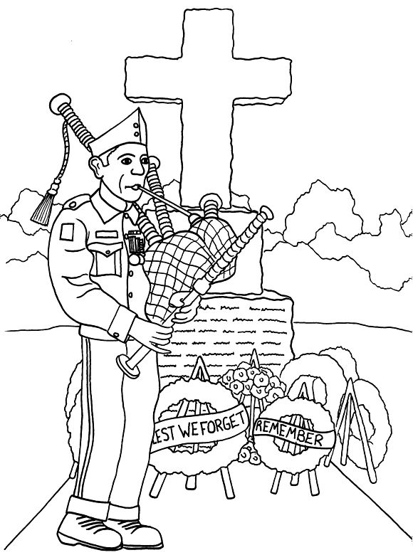 Downloadable Memorial Day Coloring Pages Coloring Sheets