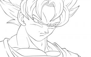 Dragon ball af coloring pages