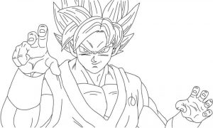 Dragon ball super coloring pages ballz
