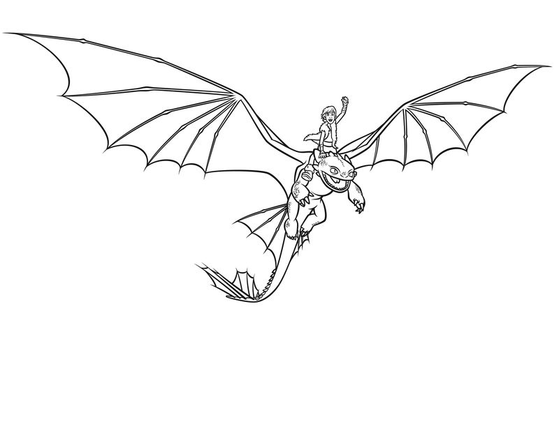 Dragon Coloring Pages To Print 001