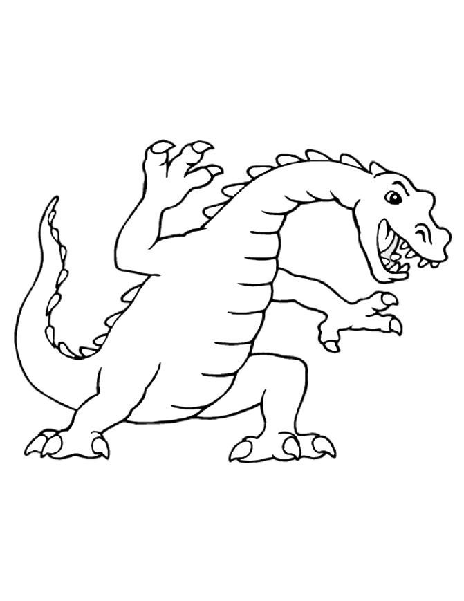 Dragon Colouring Pages 5 001
