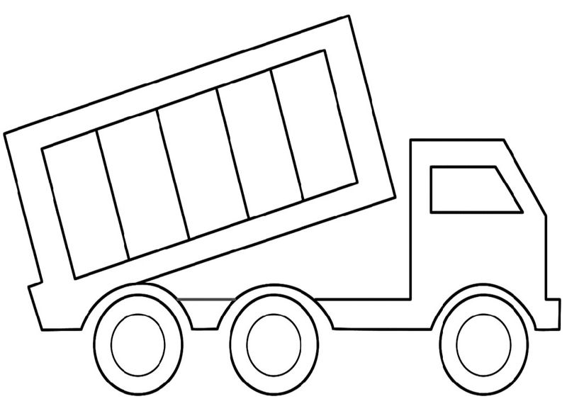 Dump Truck Pictures For Kids Easy