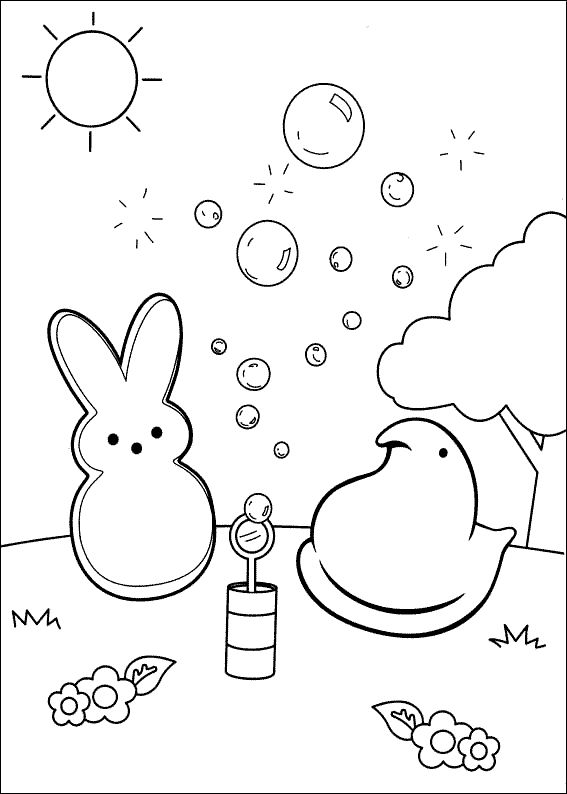 Easter Coloring Activity