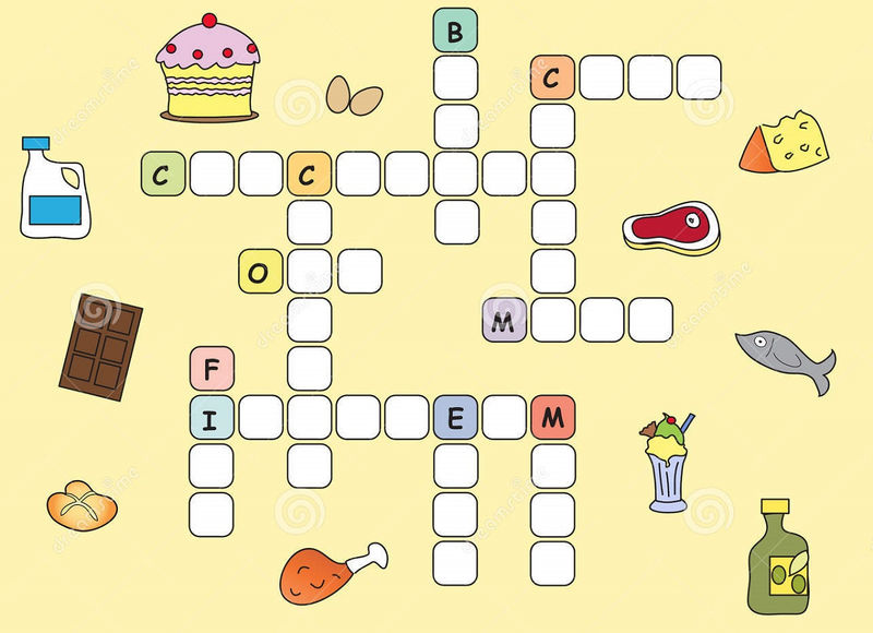 Easy Crosswords For Kids Page