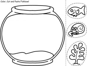 Easy fun fish worksheets for kids craft