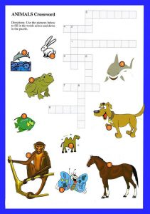 Easy kids crossword puzzles free