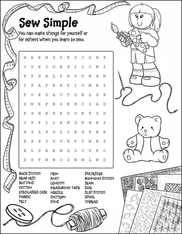 Easy Word Searches For Kids Free