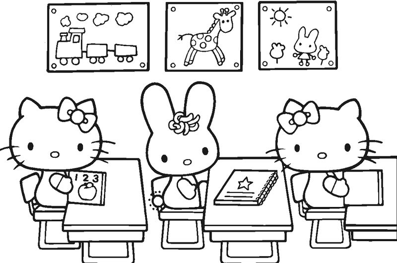 Elementary School Coloring Pages Free