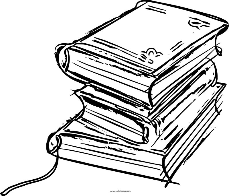 English Teacher Sketch Book Coloring Page