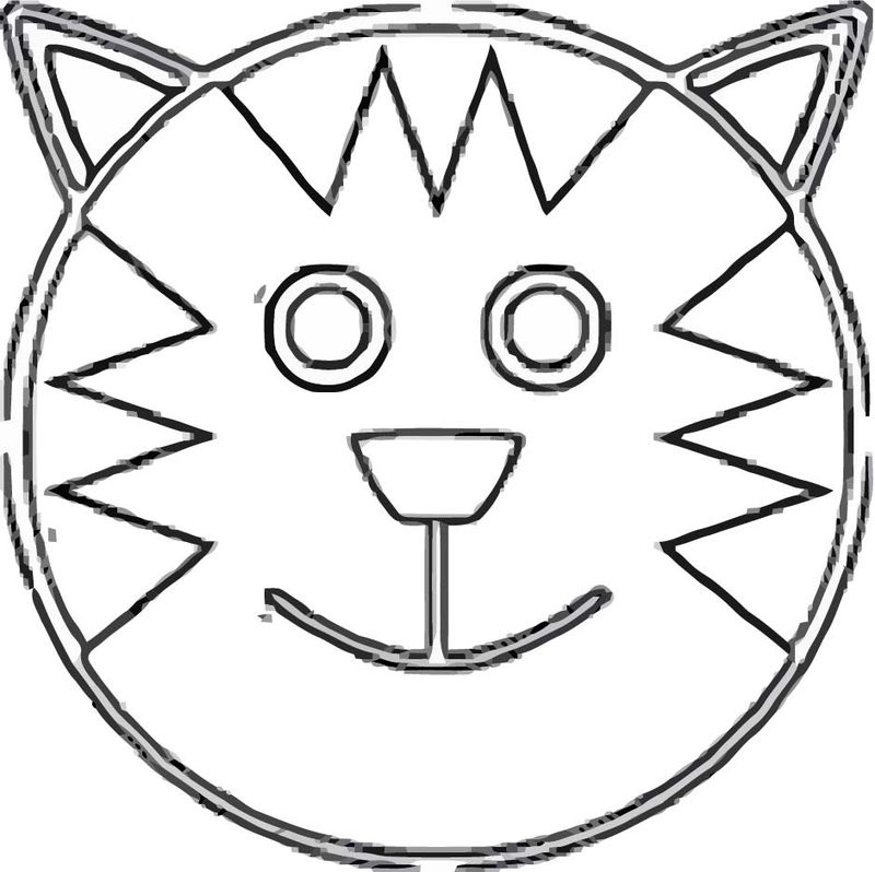 Face Images Coloring Page 05