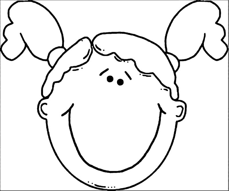 Face Images Coloring Page 26