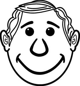 Face images coloring page 29