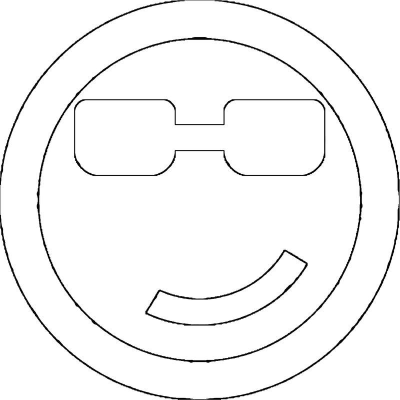 Face Rapper Coloring Page
