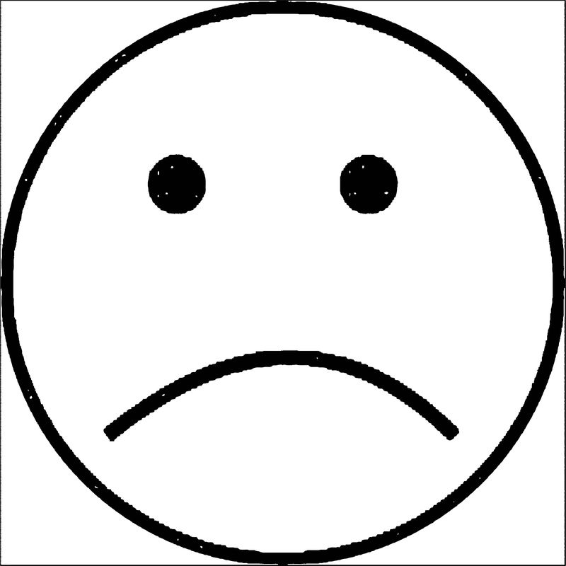 Face Sad Face Cartoon Clip Art Free Vector For Free Download Coloring Page