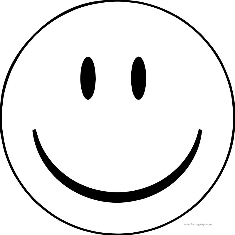 Face Smiley Face Happy Face Clip Art Big Coloring Page