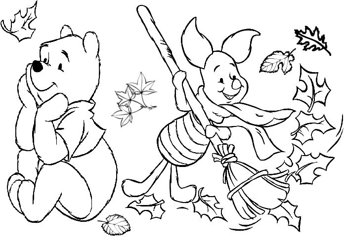 Fall Coloring Pages 1 001