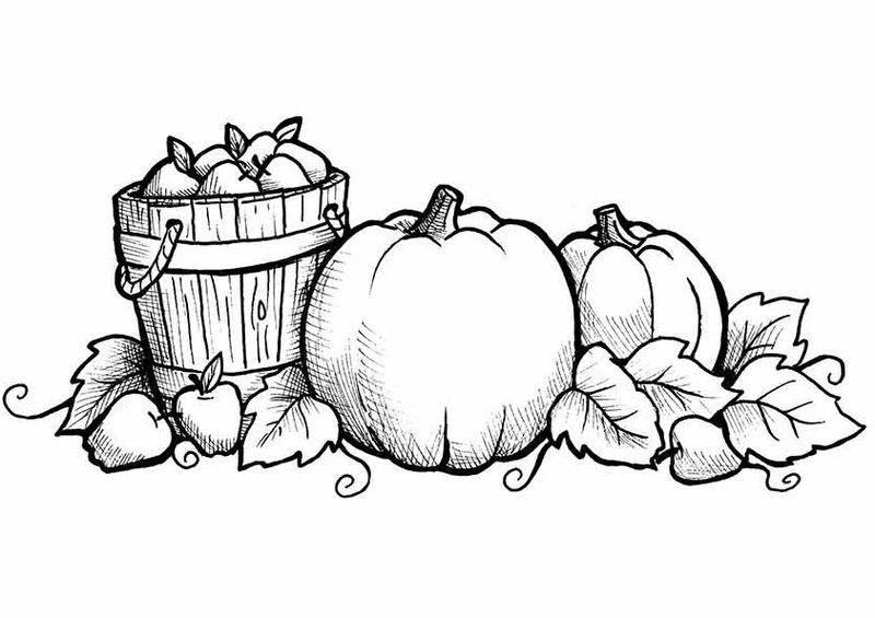 Fall Coloring Pages Printable E1470151080721