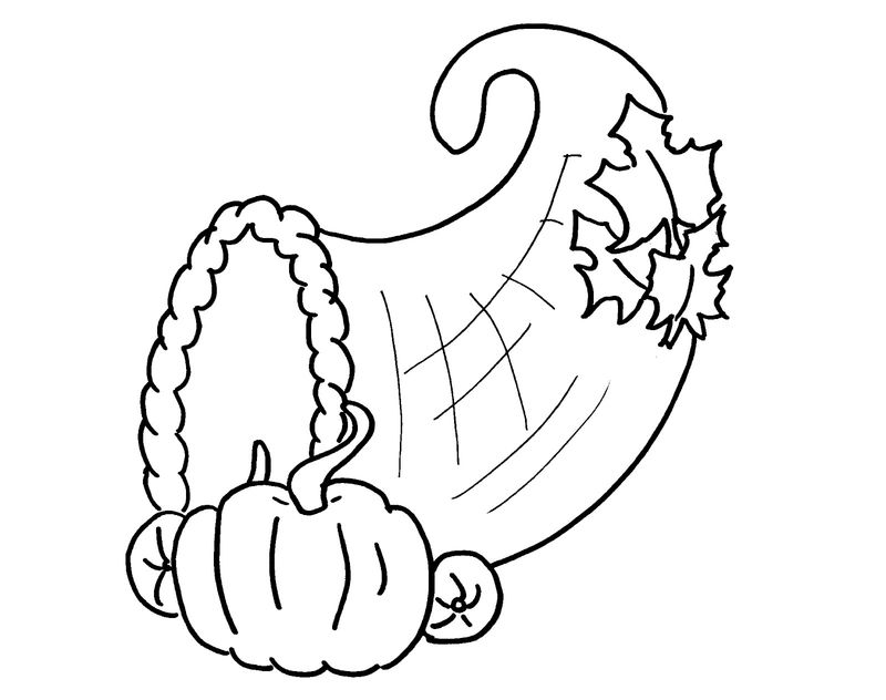 Fall Coloring Sheets Simple