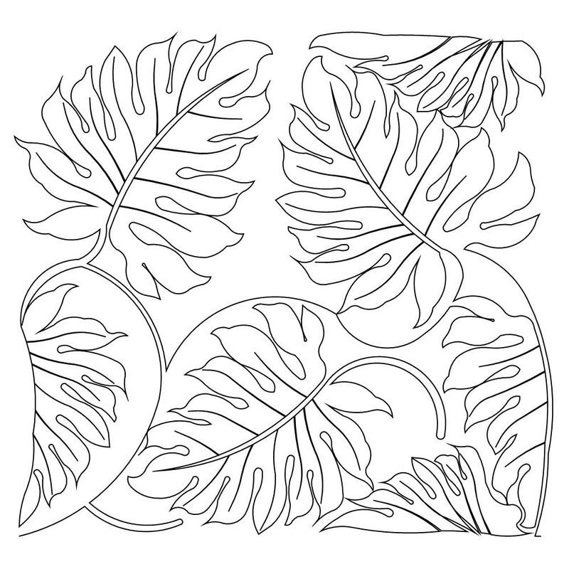 Fall Leaves Coloring Pages 1