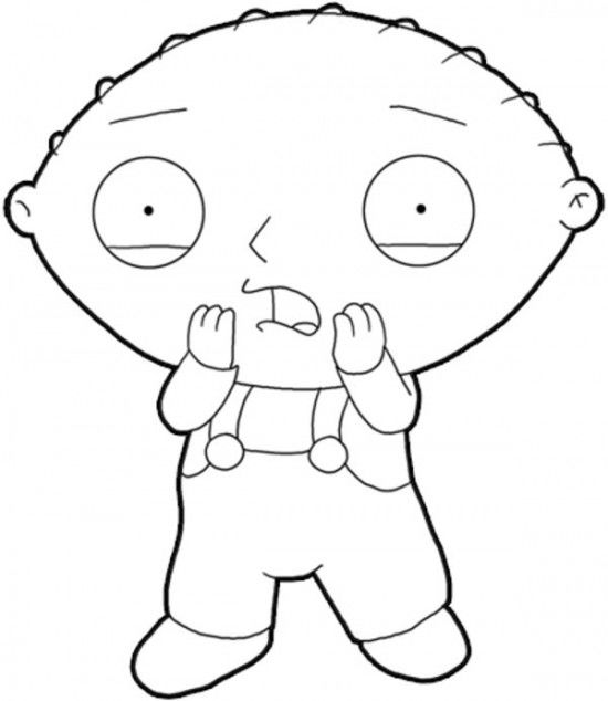 Family Guy Coloring Pages Images