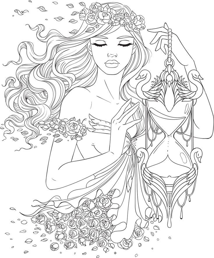 Fantasy Coloring Pages For Teens