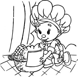 Fifi and the flowertots think coloring page