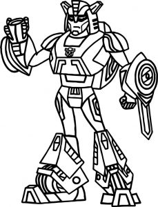 Fire transformers coloring page