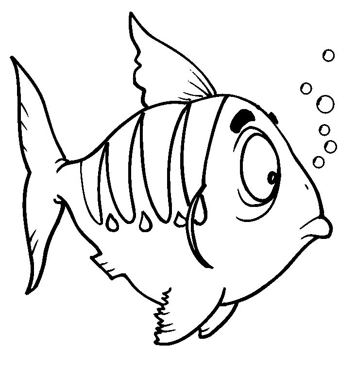 Fish Coloring Page 3 001
