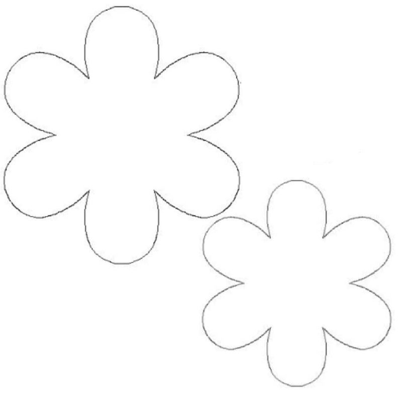 Flower Template Free