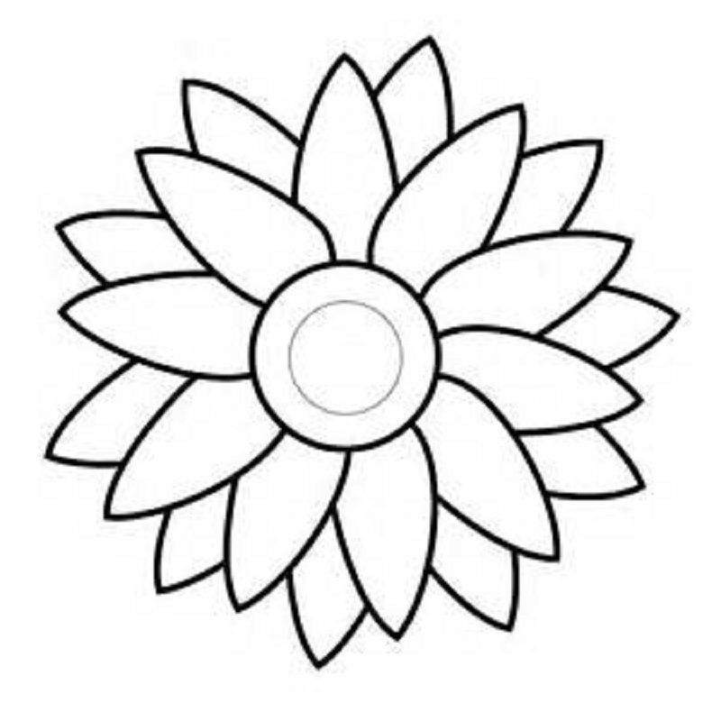 Flower Templates To Print Free 001