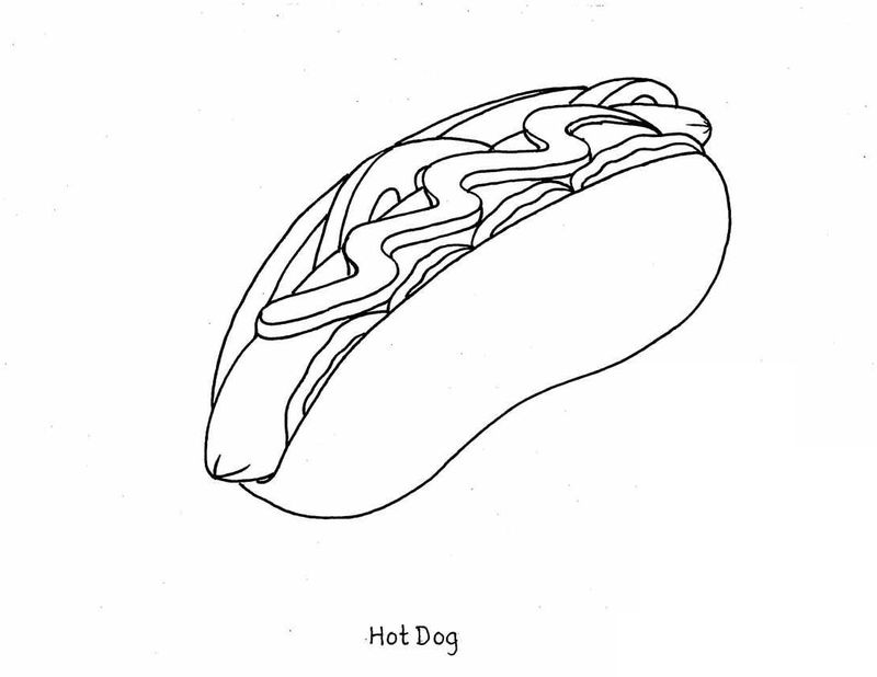 Food Coloring Page