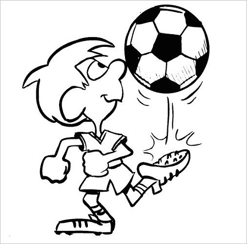 Football Coloring Pages For Boys 001