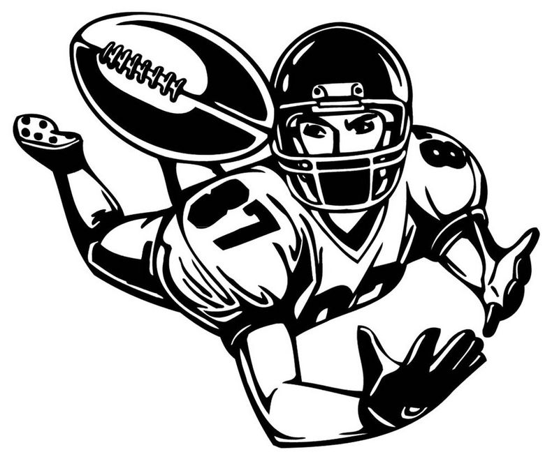 Football Coloring Picture