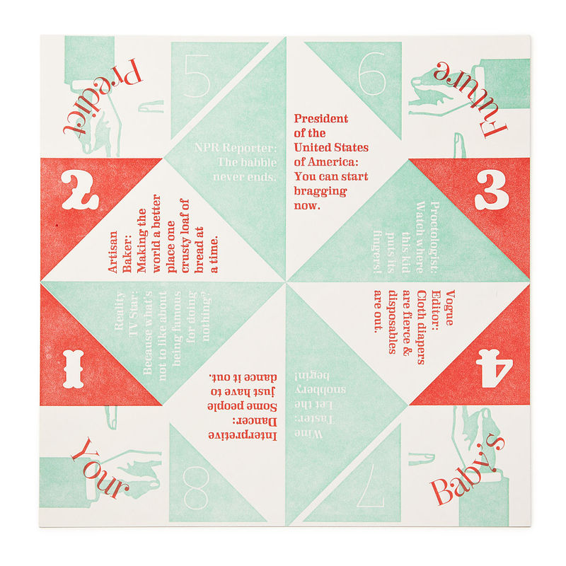 Fortune Teller Paper Game Baby