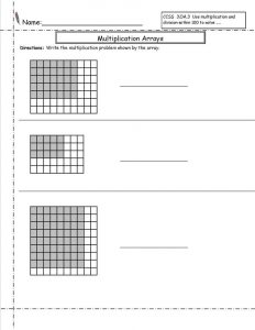 Free 3rd grade math worksheets easy