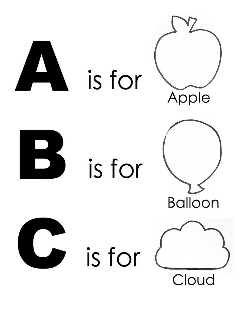 Free Abc Worksheets Simple