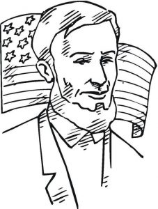 Free abraham lincoln coloring pages