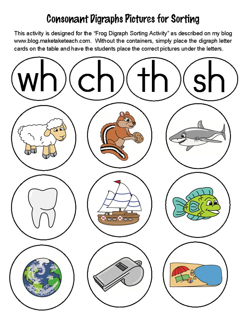 Free Activities On Sorting Worksheet 001
