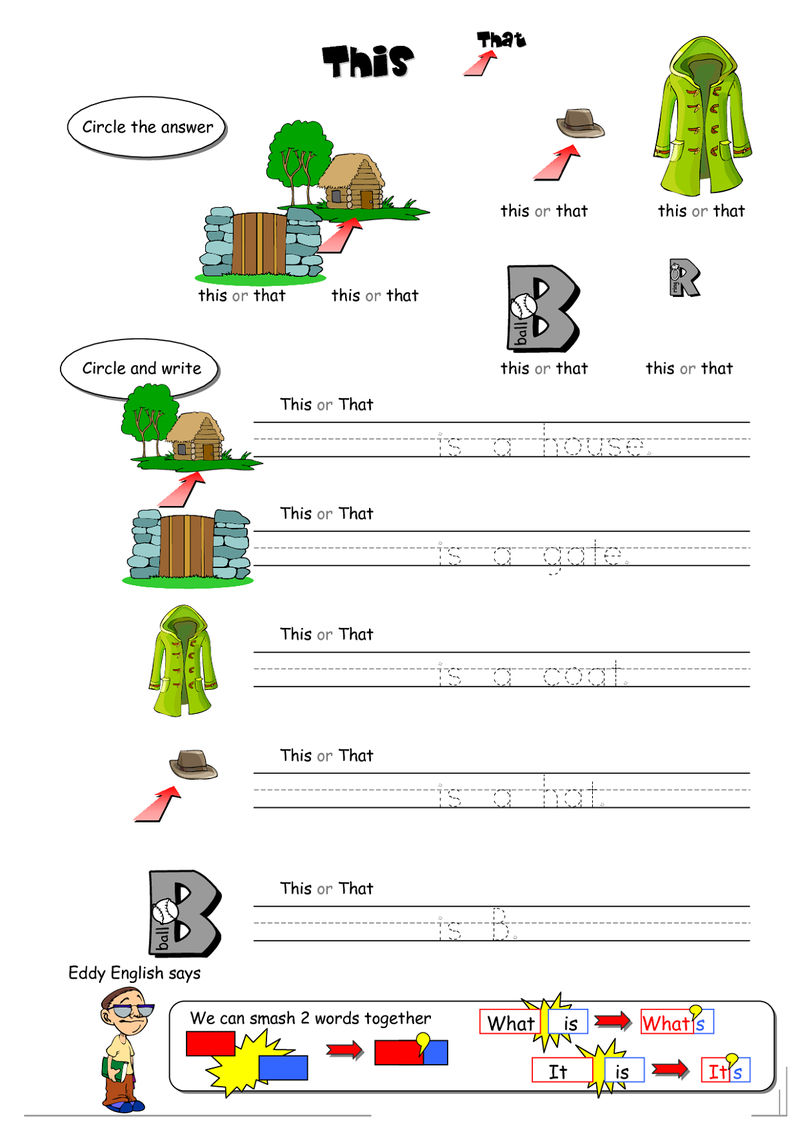 Free Analogy Worksheets Colorful
