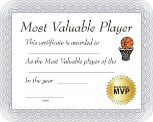 Free basketball certificates white