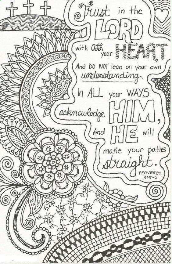Free Bible Coloring Pages 001