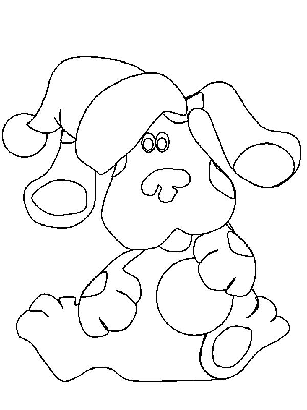 Free Blues Clues Coloring Pages For Kids