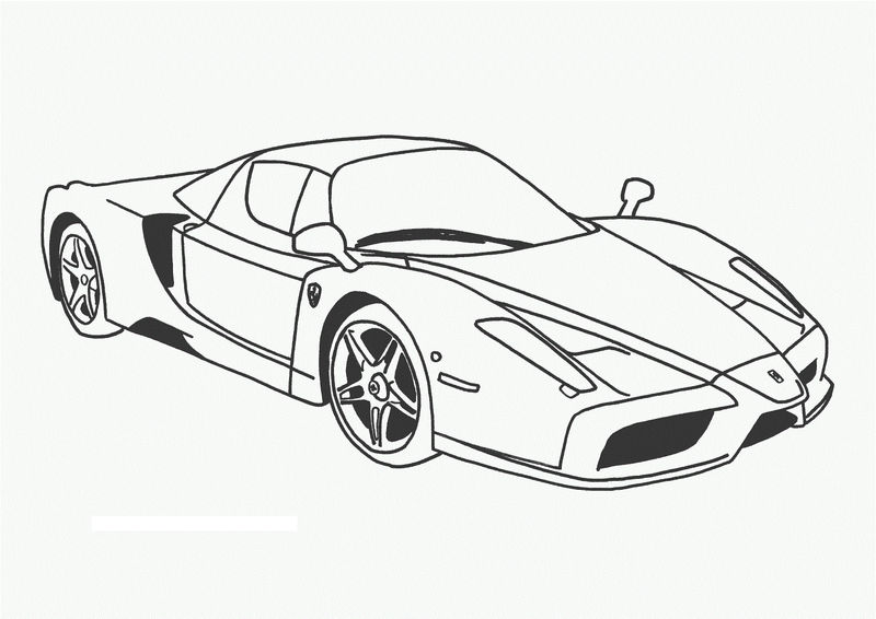 Free Coloring Pages For Kids Cars