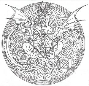 Free complicated coloring pages for adults