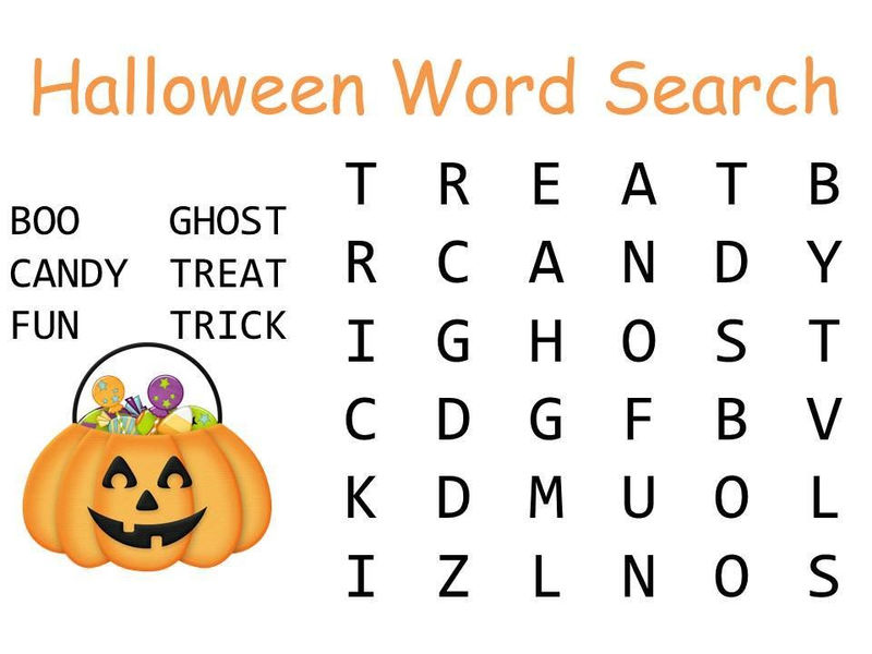 Free Easy Word Search Puzzles