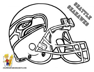 Free football coloring page seahawk 001